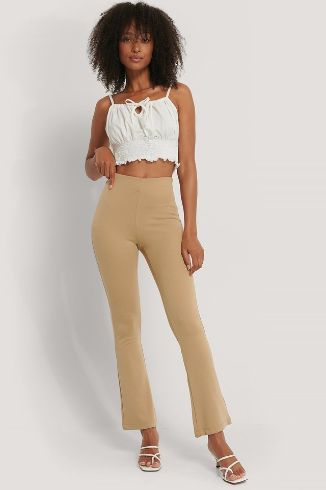 Highwaist Bootcut Pants