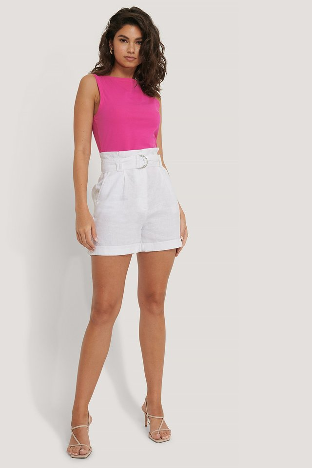 Jersey Round Neck Top Outfit