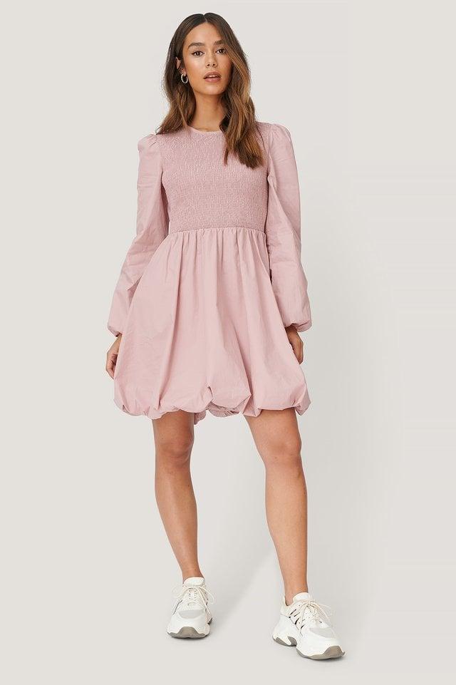 Smocked Detailed Dress