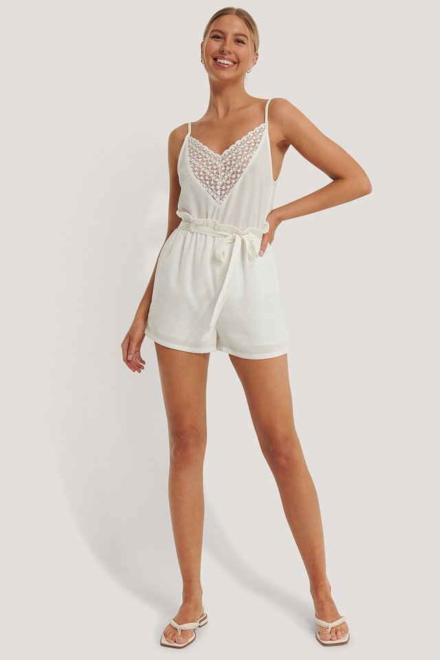 Lace Front Singlet
