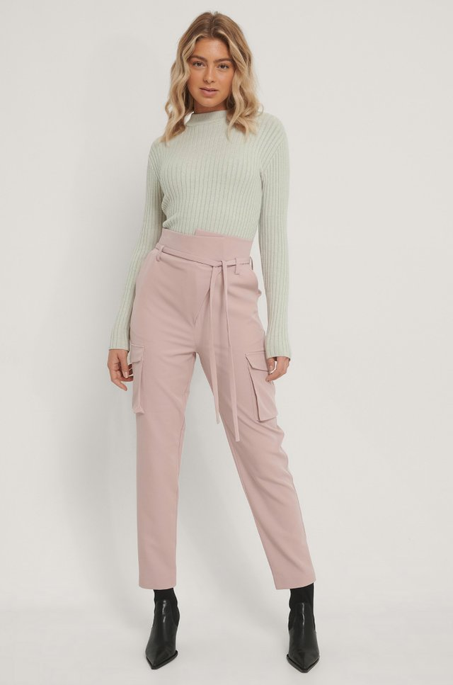 Overlapped Pants
