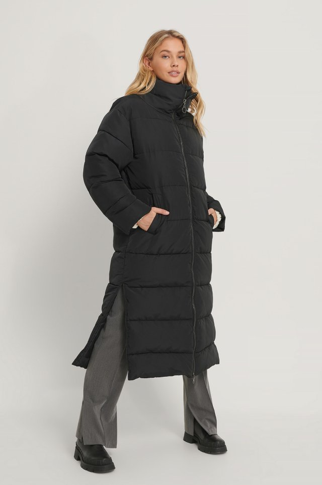 Oversized Long Puffer Jacket