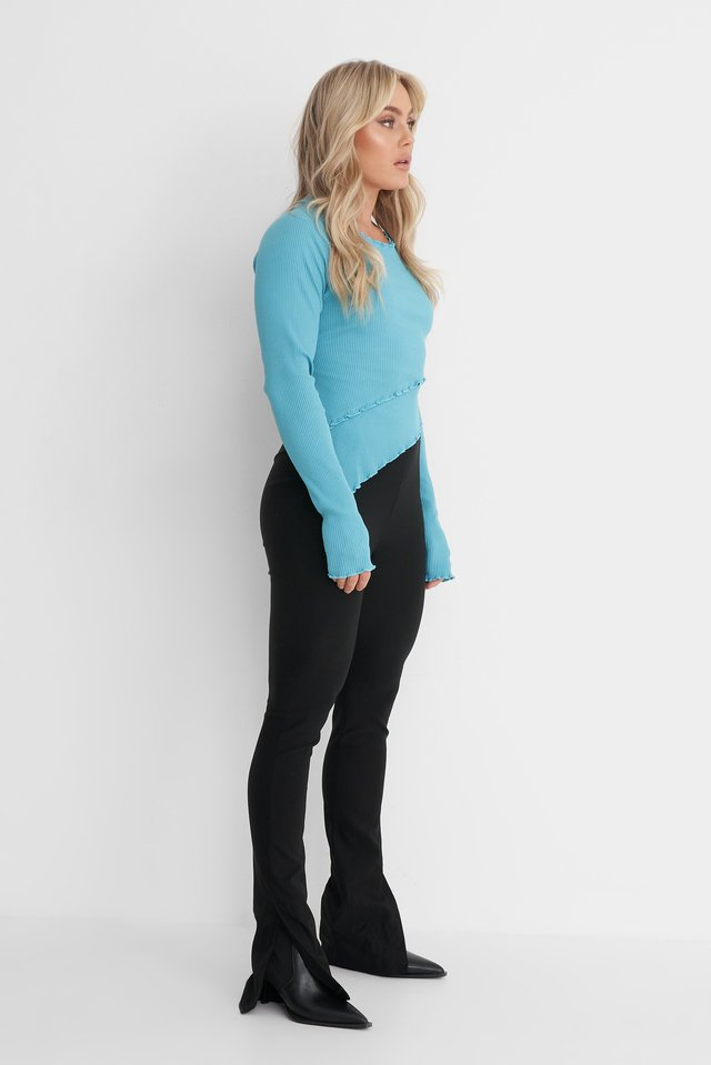 Babylock Ribbed Top Outfit