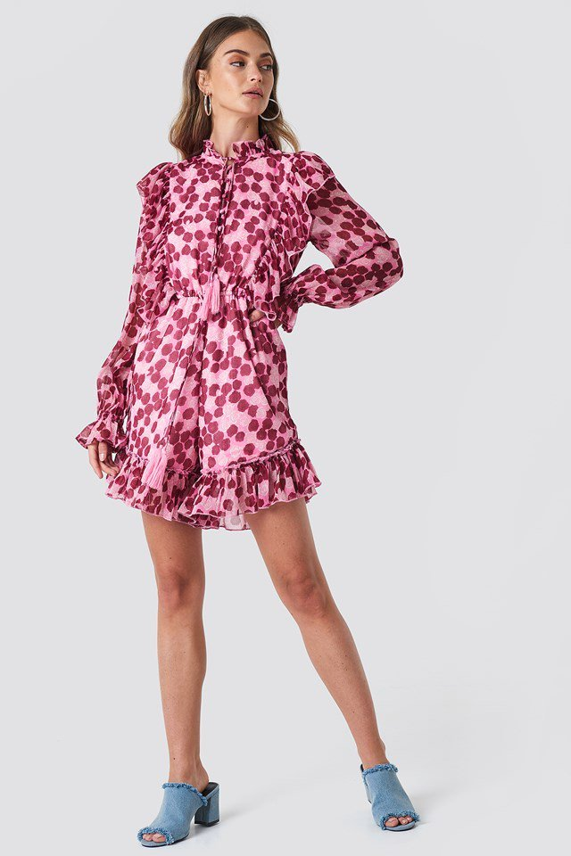 Floral High Neck Playsuit