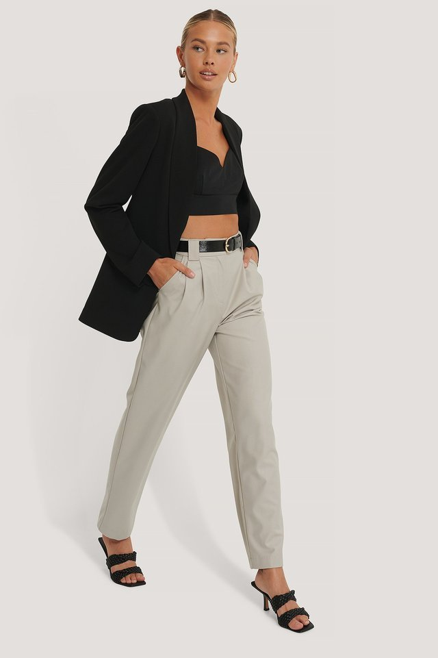 Classic Blazer Outfit.
