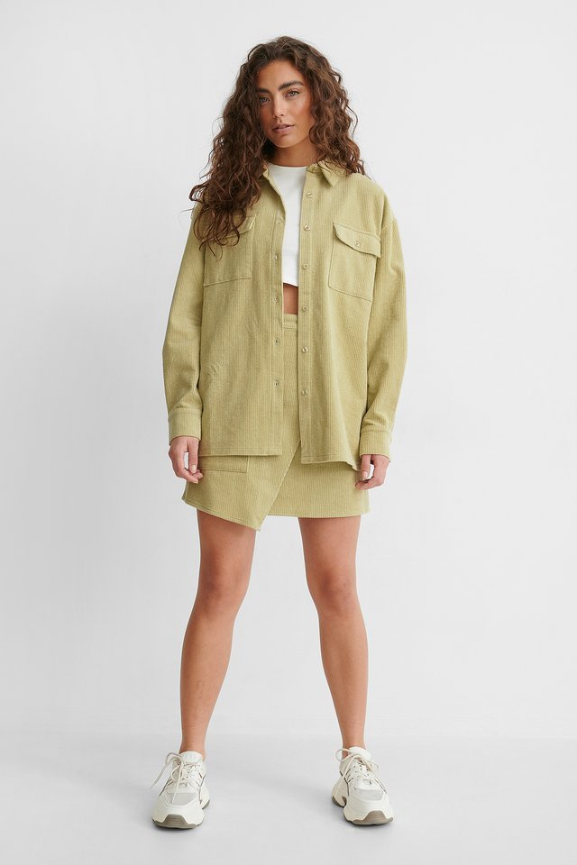 Corduroy Shirt Jacket Outfit!