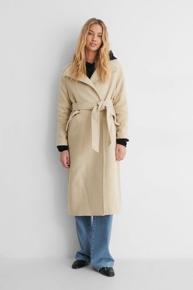 Venus Coat Beige.