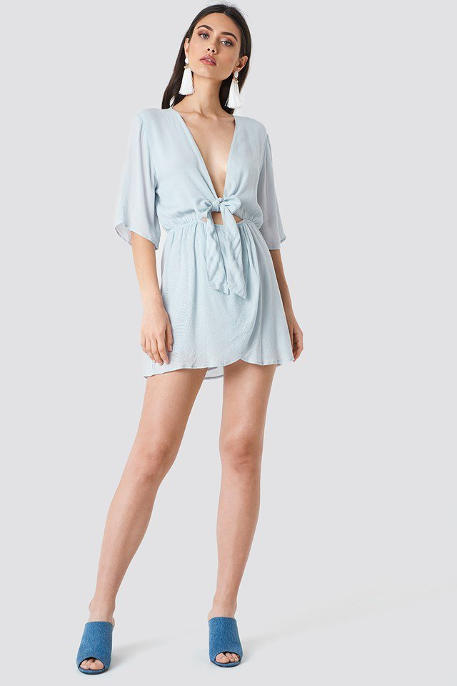 Knot Overlap Playsuit