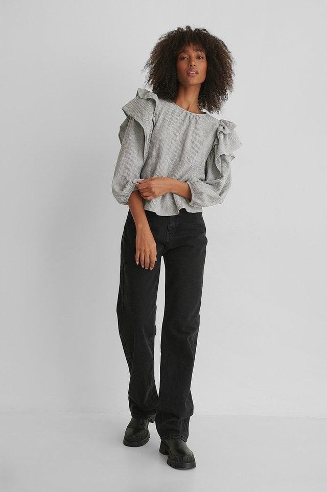 Latre Blouse Outfit.