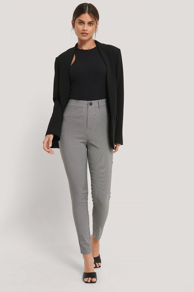 Slim-Fit Pants Outfit.