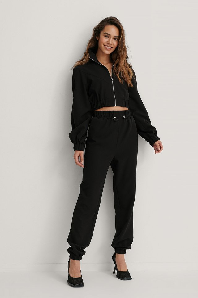 Drawstring Trousers Outfit!