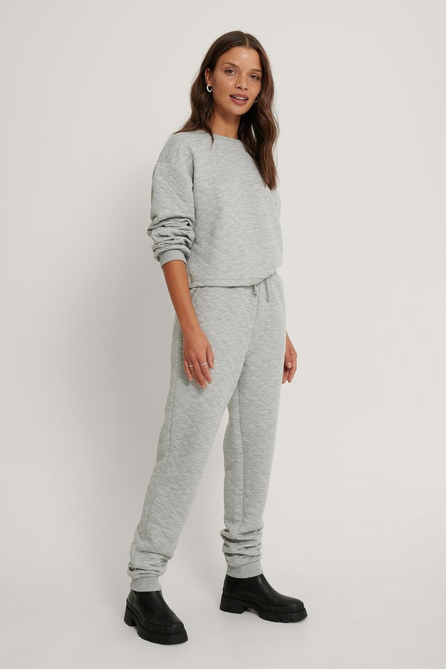 Structured Joggers Outfit!
