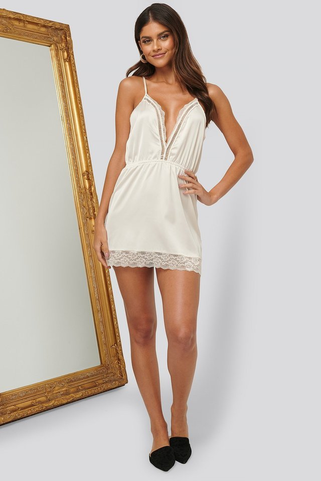 Lace Edge Babydoll Outfit!