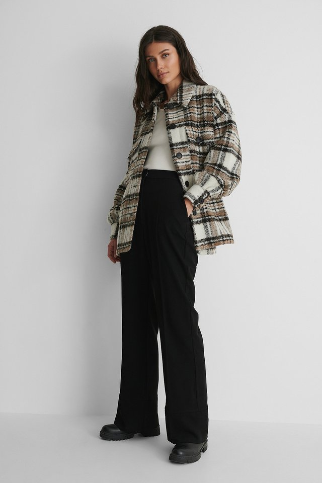 Sisters Point Cam Jacket with Suit Pants.