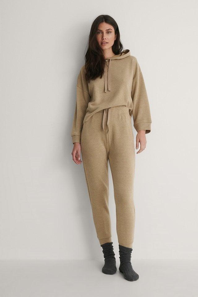 Mango Loungewear Set Outfit.