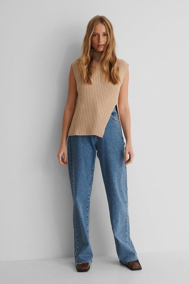 Lemar Knit Top Outfit.