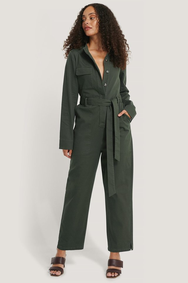 Cargo Jumpsuit Outfit.
