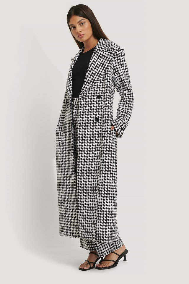 Houndstooth Coat.