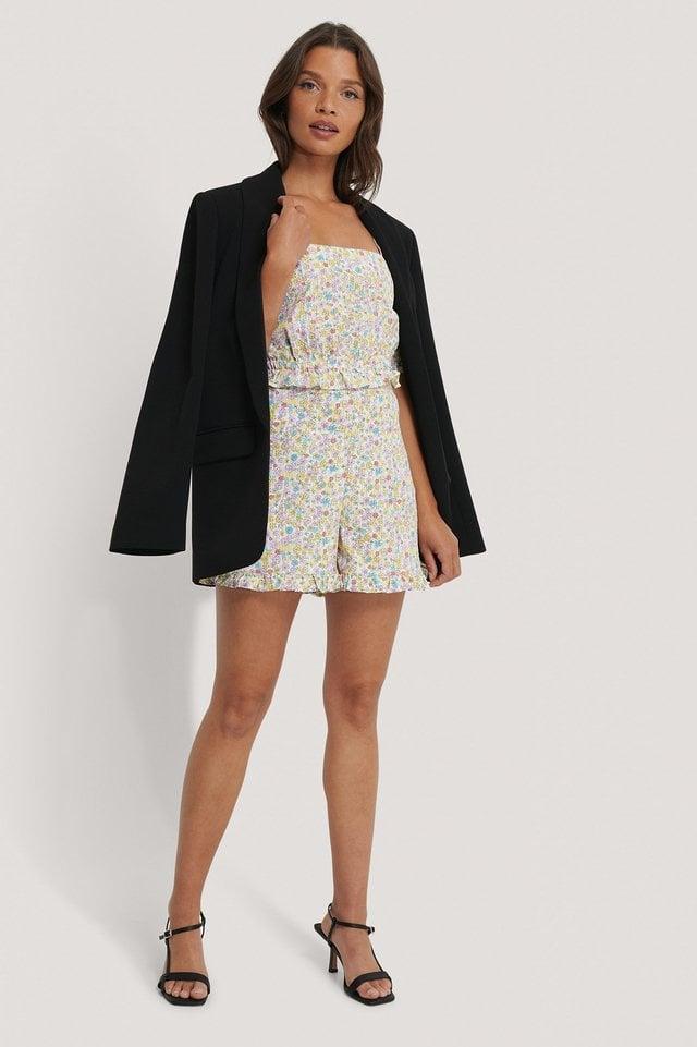 Seersucker Shorts Outfit.