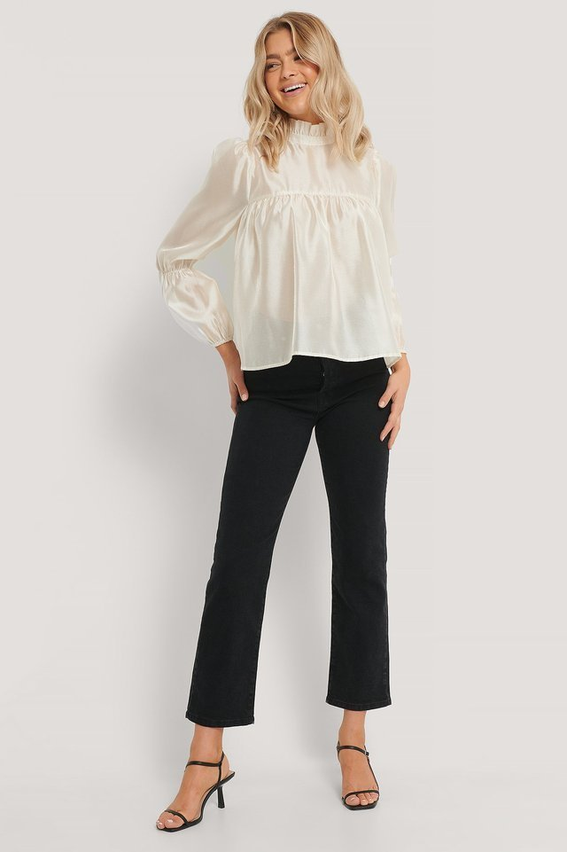 Hanna Blouse Outfit.