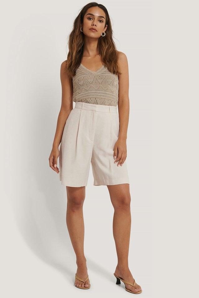 Malvi Bermuda Short Outfit.
