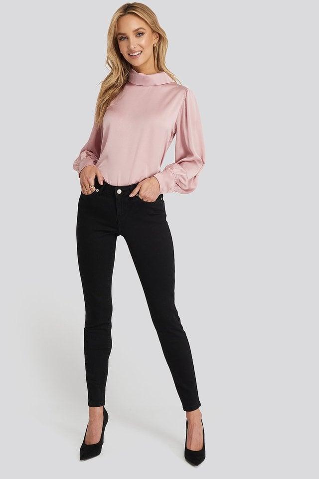 Skinny Low Waist Jeans.