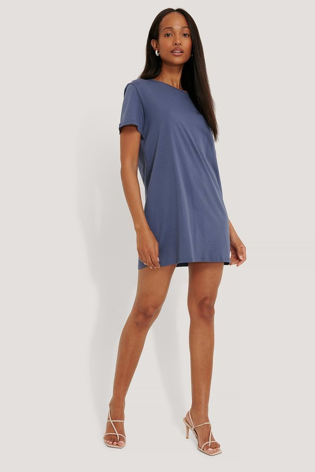 T-Shirt Dress Outfit.