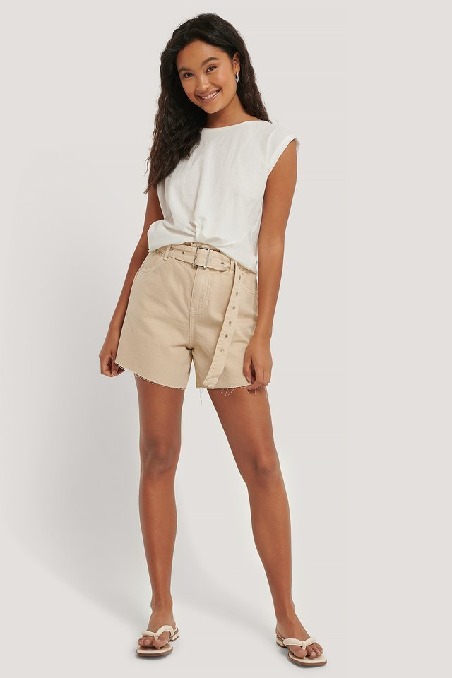 Soft Shorts Outfit.