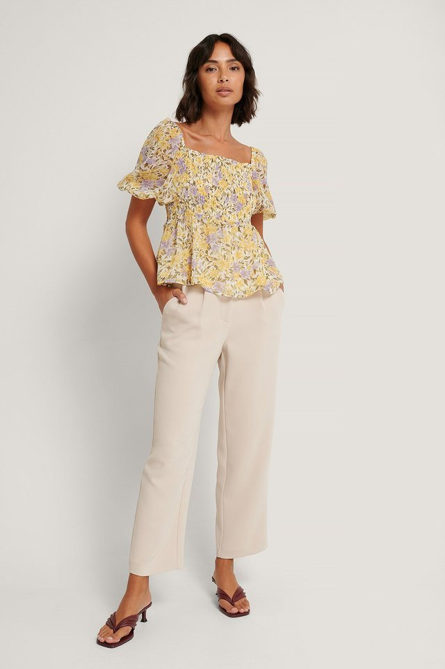 Nicole Blouse Outfit.