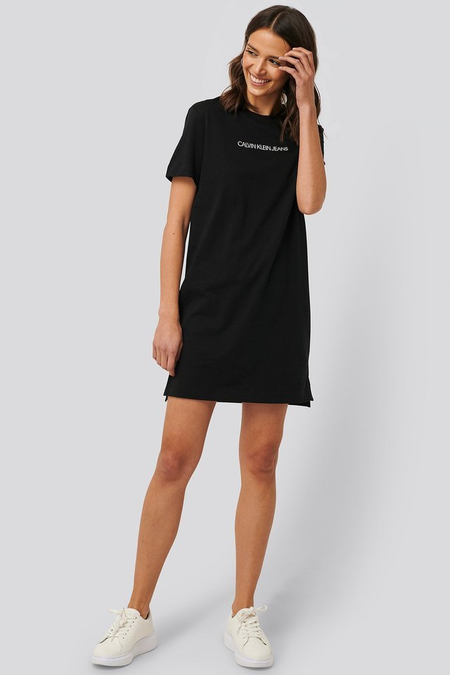 Institutional T-shirt Dress Outfit.