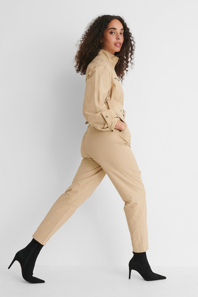 Utility Jumpsuit Outfit.