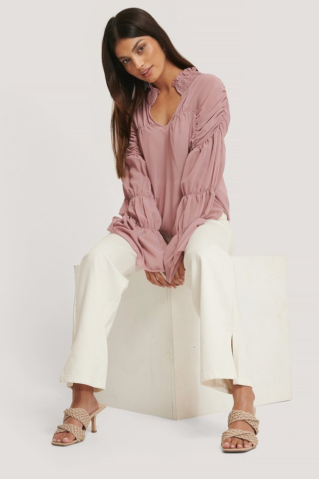 Victoria Blouse Outfit.