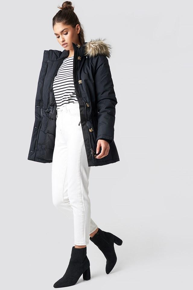 Midi Parkas Outfit