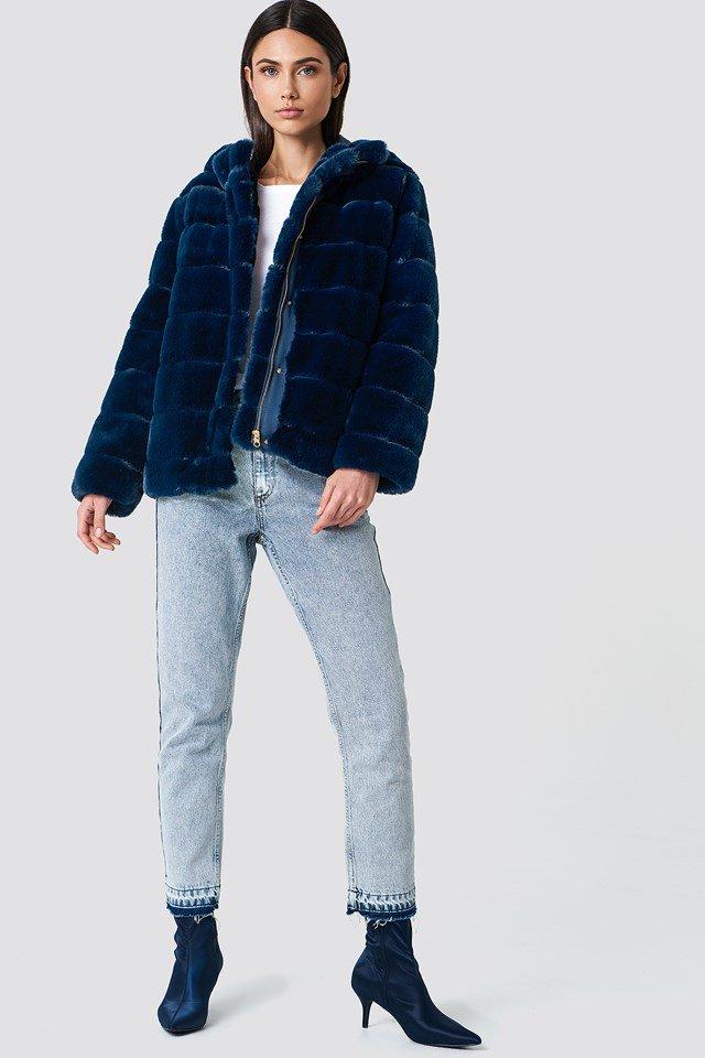 Faux Fur Jacket Outfit
