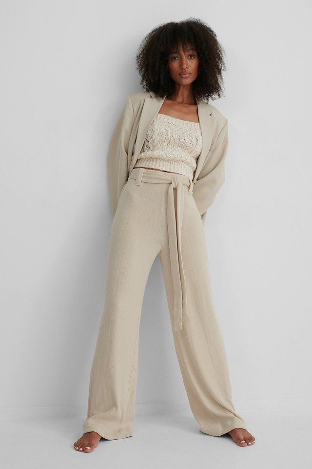 Palazzo Trousers Outfit.