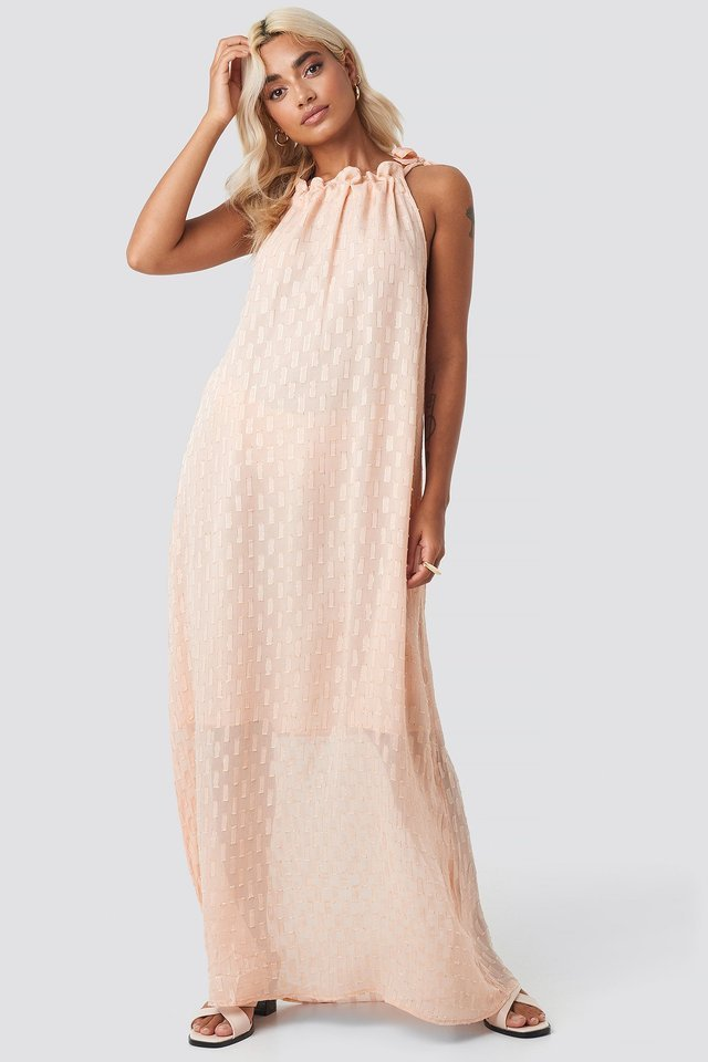 Vilma Long Dress Outfit.