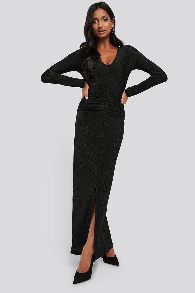 Birgitte Maxi Dress Outfit.
