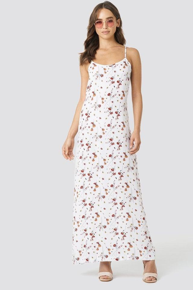 Cami Maxi Dress Outfit.