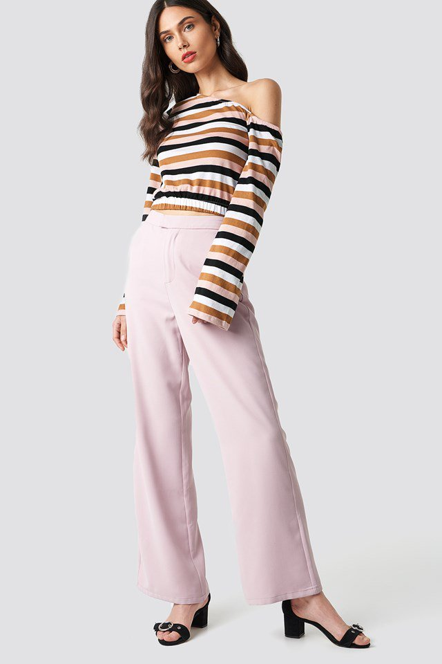 Cropped One Shoulder Top