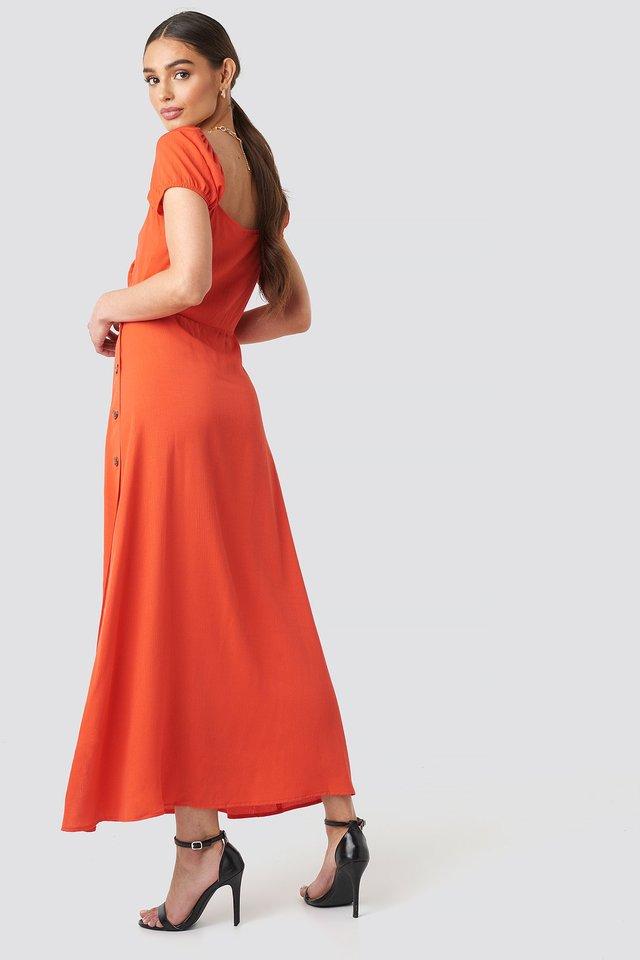 Waist Detailed Maxi Dress Outfit.