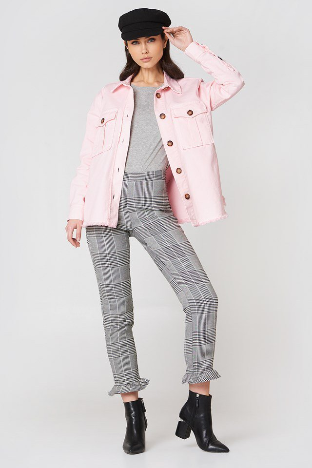 Pink Jacket Outfit