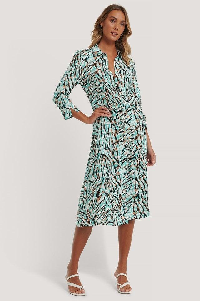 Midi Shirt Dress Outfit.