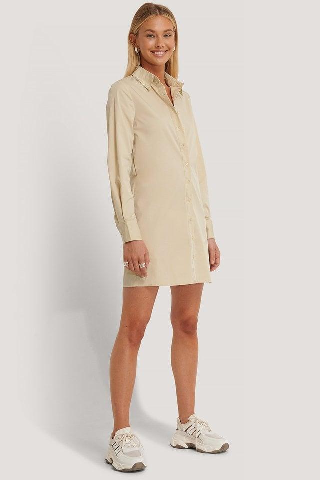 Shirt Dress Outfit.