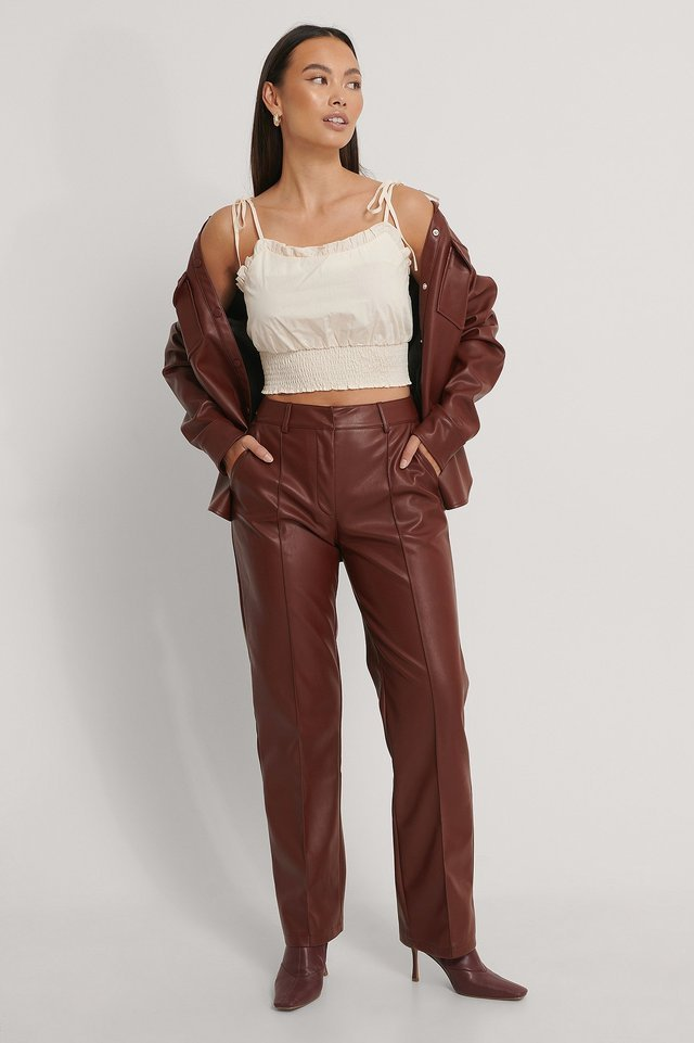 Smock Waist Singlet Outfit.