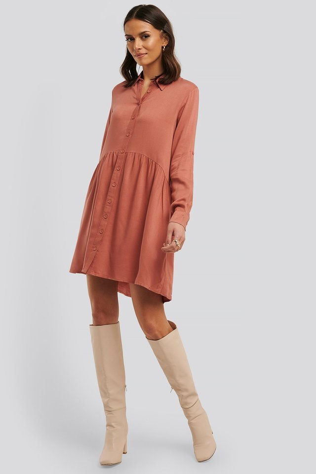 Yol Shirt Dress Outfit.