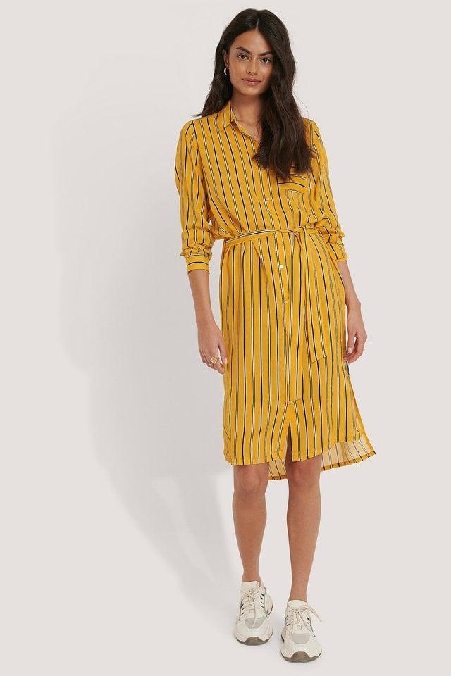 Cordelia Shirt Dress Outfit.