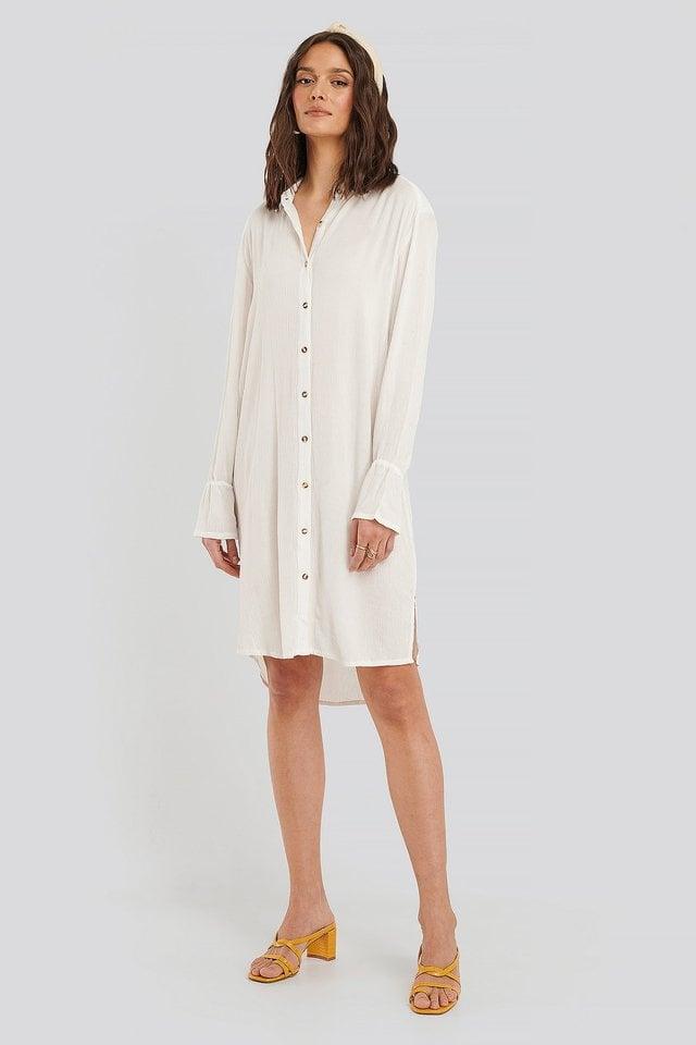 Harriet Shirt Dress Outfit.