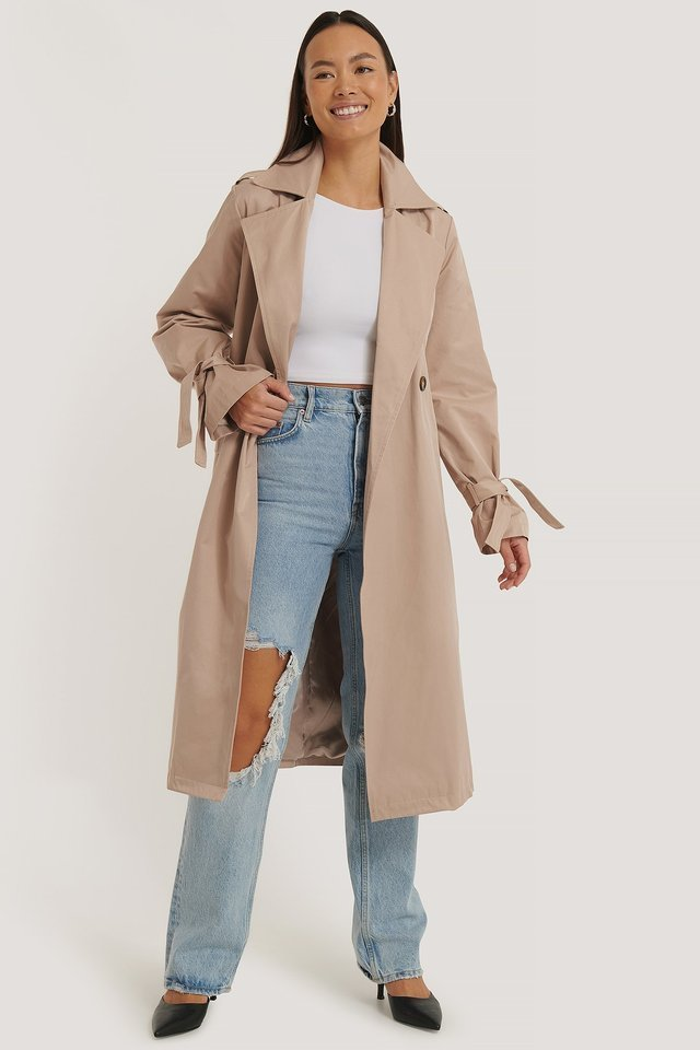 Oversized Trenchcoat Beige.