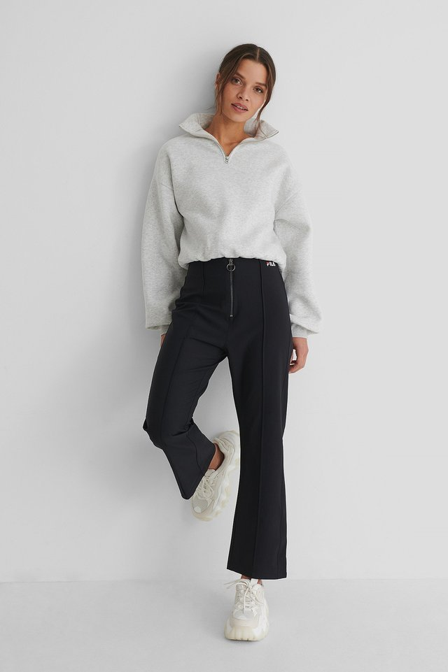 Black Mar Cropped Pant