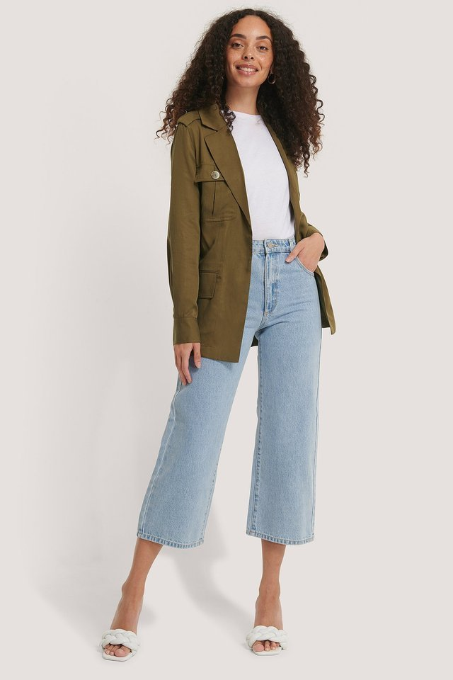 Ken Trench Coat Green.